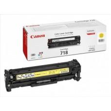 Reincarcare cartus toner Canon CRG-718Y